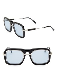 Calvin Klein Modern 53MM Rectangle Sunglasses