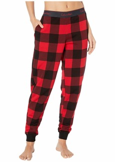 Calvin Klein Modern Cotton Lounge Buffalo Check Jogger