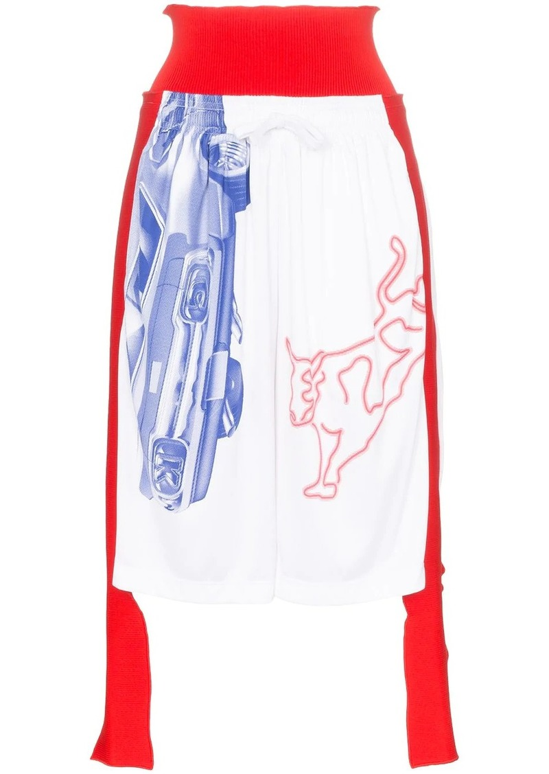Calvin Klein Modernist reconstructed knee-length shorts