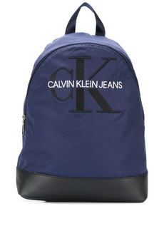 Calvin Klein monogram embroidery backpack