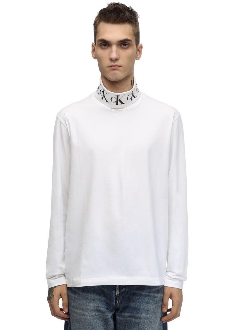 Calvin Klein Monogram L/s Cotton Blend T-shirt