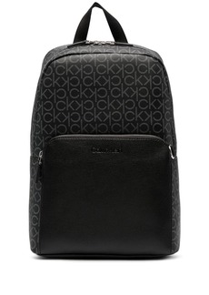 Calvin Klein monogram-print backpack