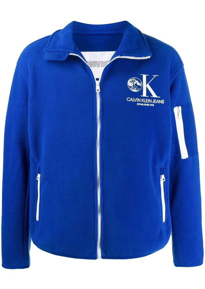 Calvin Klein Moon Odyssey fleece jacket