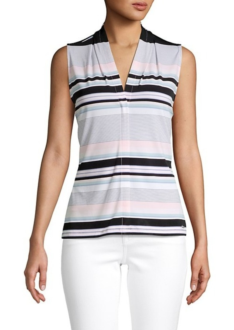 Calvin Klein ​Multicolored Striped Top