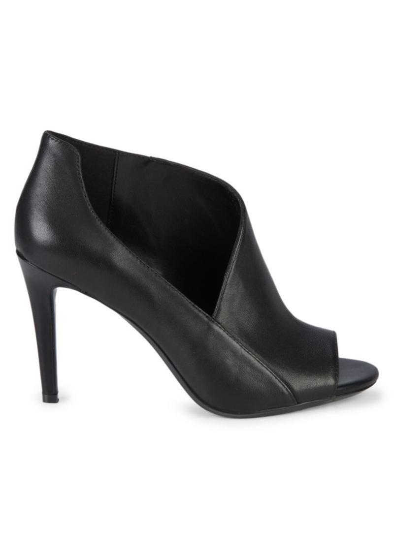 Calvin Klein Nastassia Leather Stiletto Sandals
