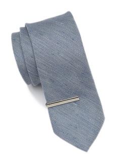 Calvin Klein Naturals Solid Tie Set