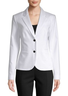 Calvin Klein Notch Lapel Stretch Jacket