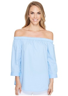Calvin Klein Off Shoulder 3/4 Sleeve Top