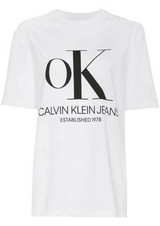 Calvin Klein OK print t-shirt