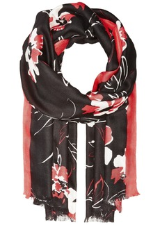 Ombre Floral Printed Pashmina