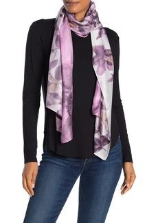 Calvin Klein Ombre Watercolor Silk Scarf