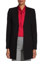 Calvin Klein Open Topper Roll Tab Sleeve Jacket