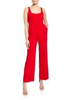 Calvin Klein Open U-Neck Jumpsuit