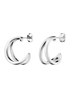 Calvin Klein Outline Hoop Earrings