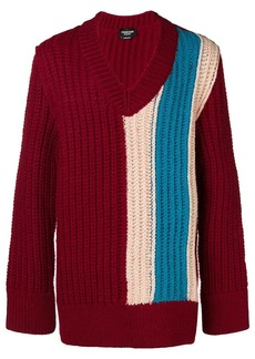 Calvin Klein oversized chunky stripe sweater