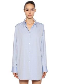 Calvin Klein Oversized Cotton Oxford Shirt