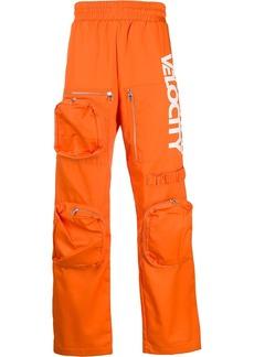 Calvin Klein oversized-pocket track pants