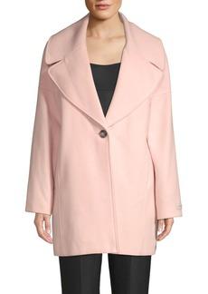 Calvin Klein Oversized Single Button Coat
