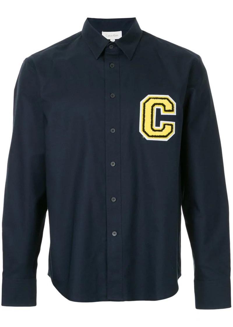 Calvin Klein Oxford logo shirt