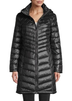 Calvin Klein Packable Quilted Down Coat