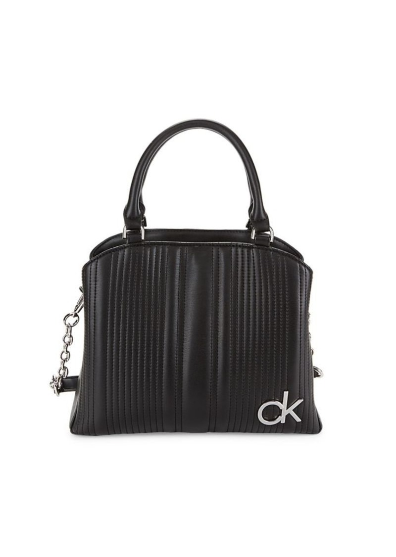 Calvin Klein Paige Quilted Tote
