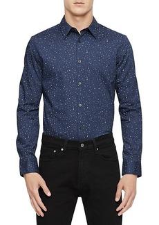 Calvin Klein Paisley Dot Button-Down Shirt