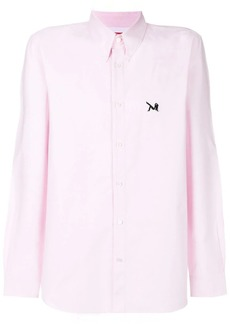 Calvin Klein patch detail button down shirt