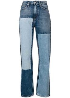 Calvin Klein patchwork jeans