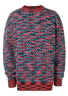 Calvin Klein patterned knit jumper