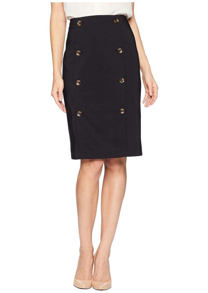 9cc295b1816c Calvin Klein Pencil Skirt w/ Buttons   Skirts