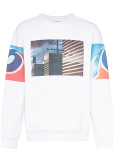 Calvin Klein photo print crew neck jumper