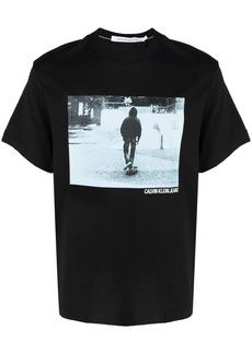 Calvin Klein photograph-print T-shirt