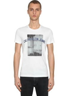Calvin Klein Photographic Basketball Cotton T-shirt