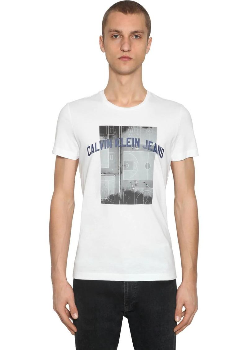 Calvin Klein Photographic Basketball Cotton T-shirt