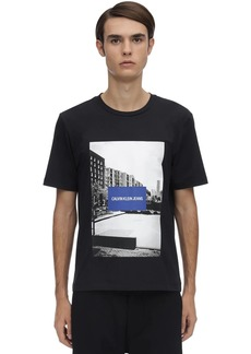 Calvin Klein Photographic City Sport Cotton T-shirt
