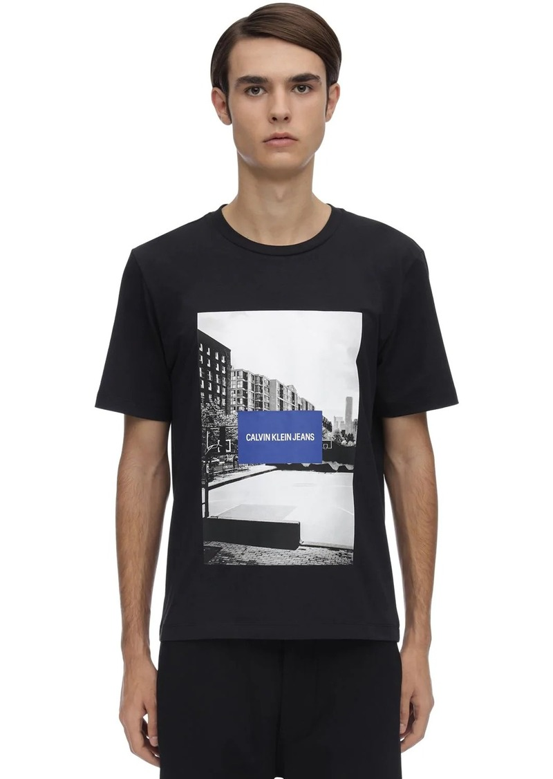 Calvin Klein Photographic City Sport Cotton T-shirt