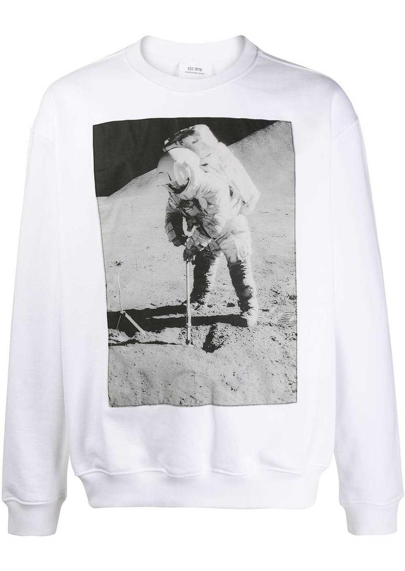 Calvin Klein photographic print sweatshirt