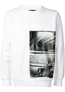 Calvin Klein photographic sweater