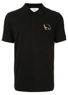 Calvin Klein pig motif polo shirt