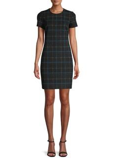 Calvin Klein Plaid Mini Dress