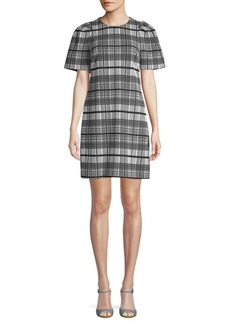 Calvin Klein Plaid Shift Dress