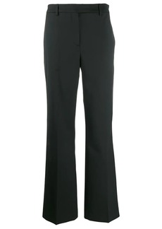 Calvin Klein plain slim-fit trousers