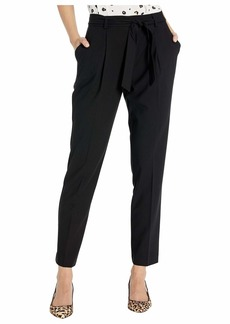 Calvin Klein Pleat Pants with Tie Belt