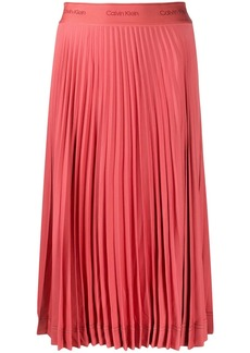 Calvin Klein pleated midi skirt