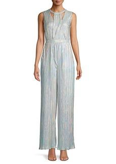 Calvin Klein Pleated Sleeveless Jumpsuit