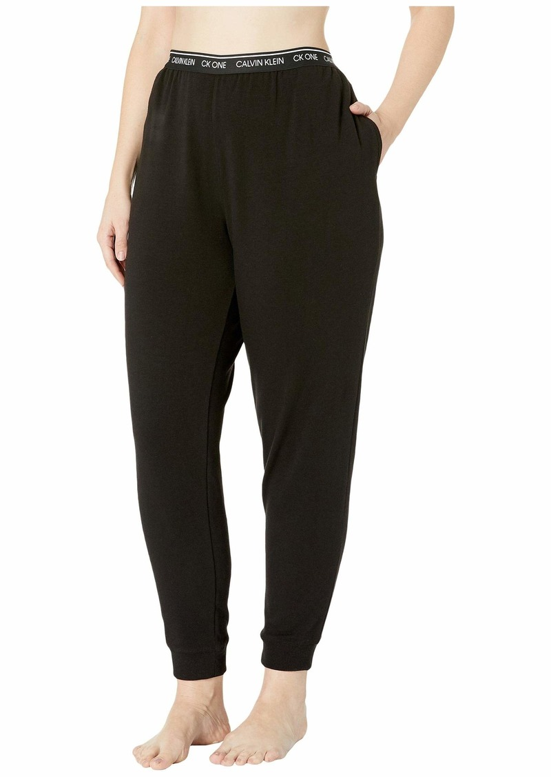 Calvin Klein Plus Size One Basic Lounge French Terry (Full Figure) Joggers