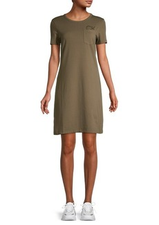 Calvin Klein Pocket T-Shirt Dress