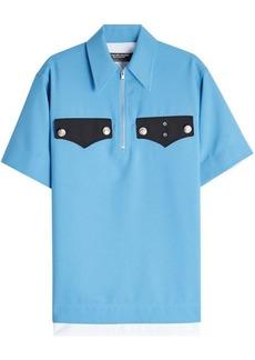 Calvin Klein Policeman Collared Piqué Shirt