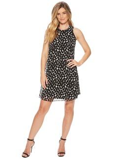 Calvin Klein Polka Dot Trapeze Dress CD8HAC2R