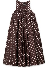 Calvin Klein Polka-dot Twill Mini Dress